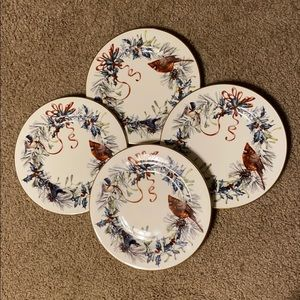Lenox Winter Greeting Plates